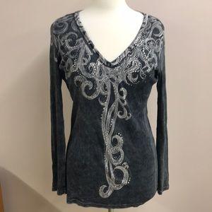 Vocal brand long sleeved t-shirt